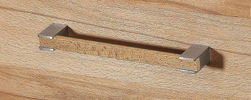 Massivholz Lowboard 238x47x42cm 1 Klappe 2 Schubladen Hifi Möbel Kernbuche massiv geölt TV-Bank – Bild 5