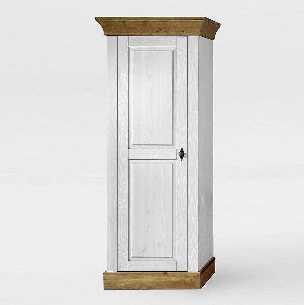 Wohnzimmerschrank 65x163x45cm 1 Holztur Kiefer Massiv