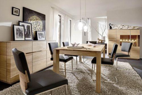 Massivholz Ausziehtisch Asteiche 140/180 x 85cm  – Bild 2