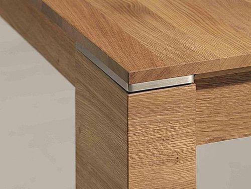 Massivholz Ausziehtisch Asteiche 200/260 x 95cm  – Bild 6