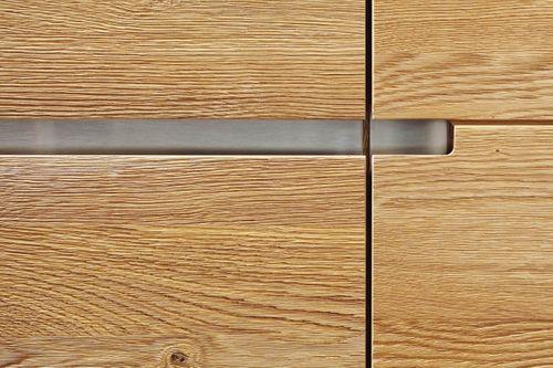 Massivholz TV-Lowboard Asteiche 241x56cm – Bild 3