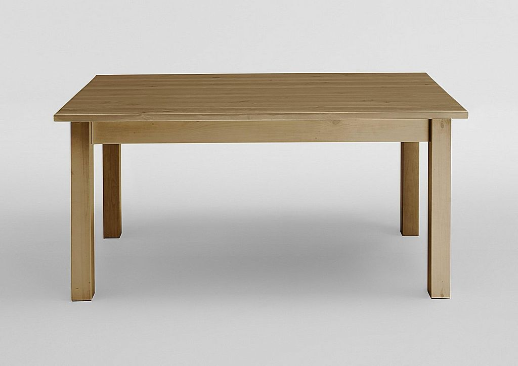 esstisch 140x78x90cm kiefer massiv gelaugt ge lt. Black Bedroom Furniture Sets. Home Design Ideas