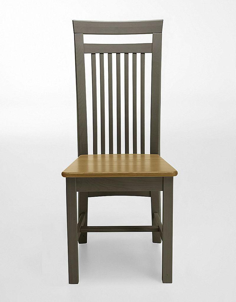Massivholz Holzstuhl Kiefer 2farbig Grau Gelaugt Stuhle Stuhl Aus Holz Massivholzmoebel Experte