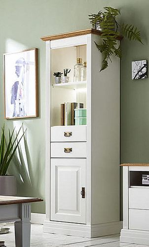 Wohnzimmer komplett Kiefer weiß Wildeiche geölt Wohnzimmermöbel massiv – Bild 3