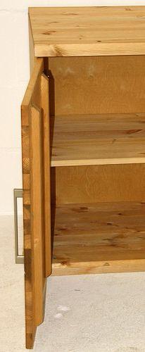 Kommode Kiefer Wäschekommode massiv Schlafzimmerkommode gelaugt geölt – Bild 3