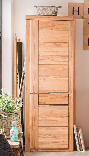 Massivholz Schrank Kernbuche 71x203x40cm geölt Holzschrank massiv – Bild 1