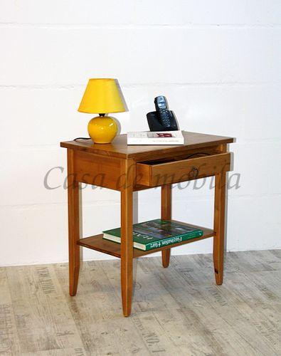 Beistelltisch Nachttisch Konsolentisch Holz massiv honig – Bild 1