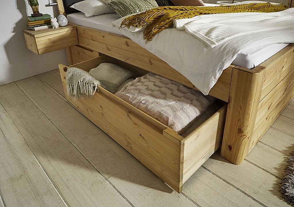 Bett 180x200 2x2 Schubladen Luxus Höhe 56cm Mit Kopfteil A1