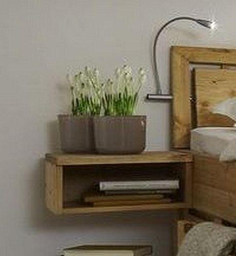 Schlafzimmer Set Kiefer massiv 4tlg. gelaugt geoelt Bett 160x200 56 hoch Vollholz Kopfteil Kleiderschrank 4trg. – Bild 3
