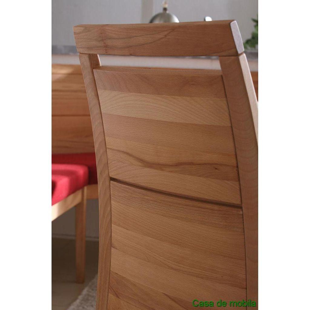 Stuhl 49x53x95cm Ohne Armlehnen Rotkernbuche Geolt Stoff Lino 84