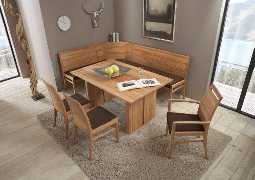 Massivholz Wangentisch Casera Tisch 130x95 Küchentisch – Bild 4