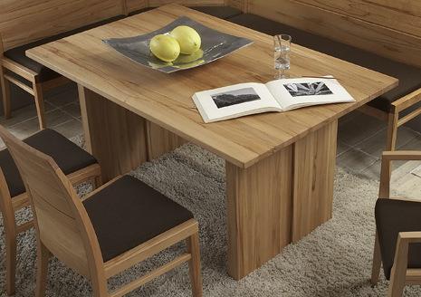 massivholz essgruppe modern set wangentisch 130x95 kernbuche massiv ge lt eckbank mit 2 st hlen. Black Bedroom Furniture Sets. Home Design Ideas