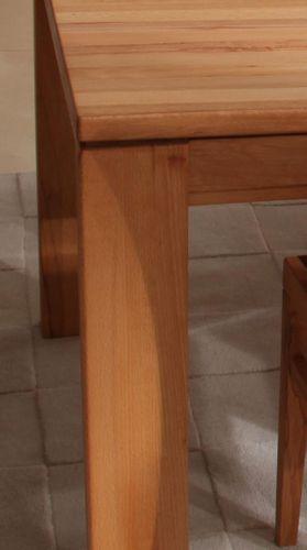 Massivholz Esstisch 190/290x95 cm Kernbuche Casera Tisch massiv Esszimmertisch aussziehbar – Bild 6
