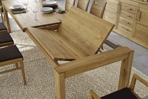 Massivholz Ausziehtisch 150 - 230 Eiche Casera Tisch ausziehbar Küchentisch klein – Bild 4