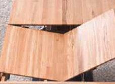 Massivholz Tisch ausziehbar 200/260 Eiche Ausziehtisch – Bild 4