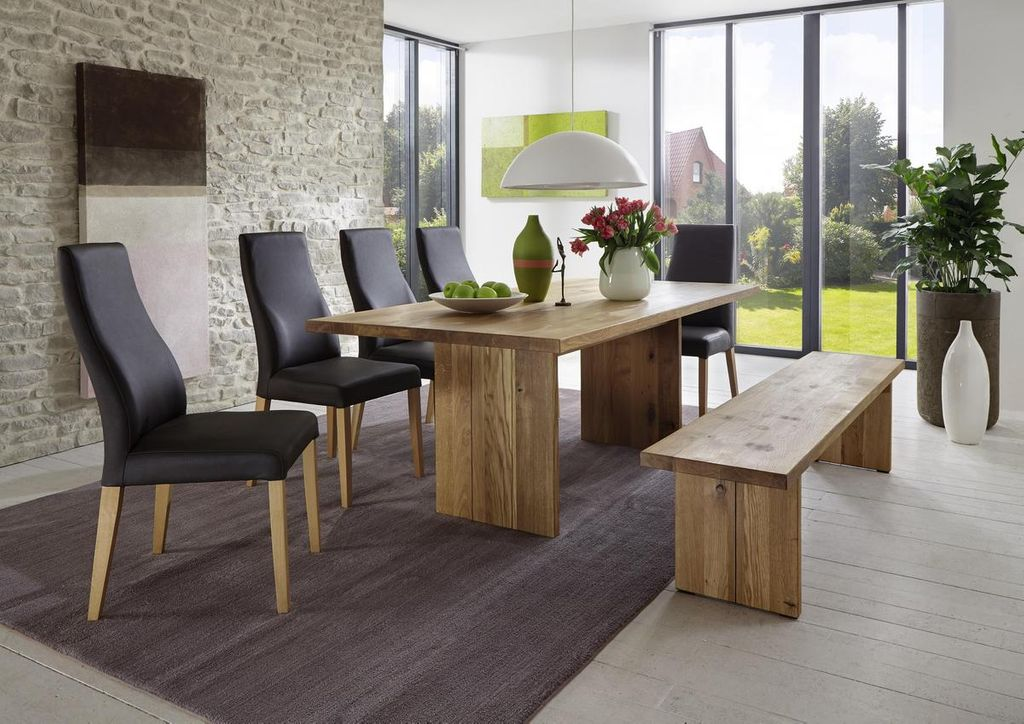 wangentisch 180x76x100cm gerade kante holzf e wildeiche ge lt. Black Bedroom Furniture Sets. Home Design Ideas