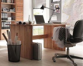 Schreibtisch 125x74x78cm, Massivholz