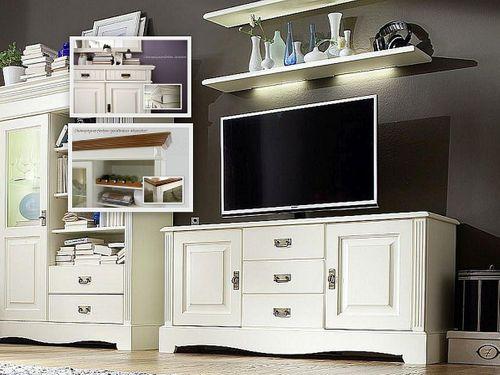 tv lowboard 155x70x45 kiefer champagner lackiert. Black Bedroom Furniture Sets. Home Design Ideas