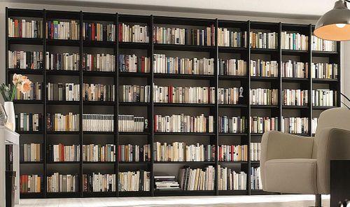 Büroregal Massivholz Bibliothek-Regal Systemregal Kiefer Vollholz – Bild 1