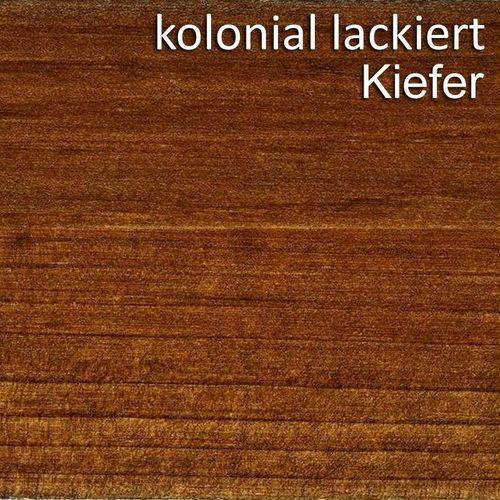 Schrankwand Massivholz Anbauwand Bücherregal Kiefer Vollholz – Bild 8