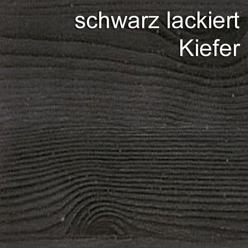 Anbauwand Massivholz Wohnwand Kiefer weiß kolonial Vollholz Schrankwand – Bild 2