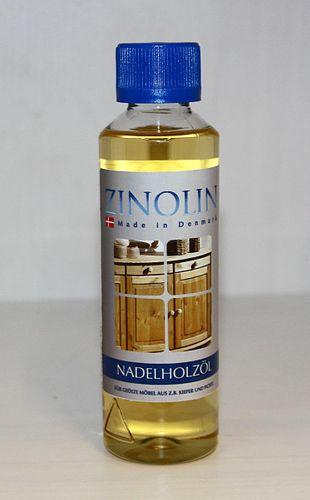Zinolin Nadelholz Öl 250ml Möbelöl Kiefer Fichte Tanne – Bild 1