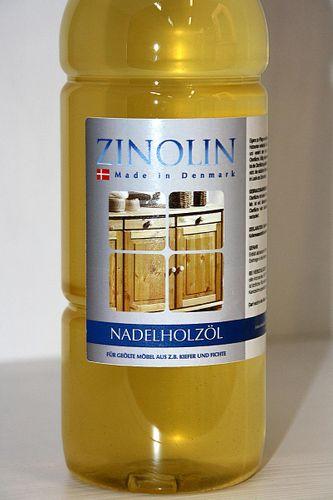Zinolin Nadelholz Öl 1 Liter Möbelöl Kiefer Fichte Tanne – Bild 3
