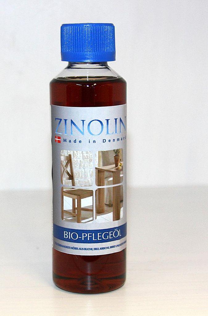 Zinolin Bio-Möbelöl 250ml Möbelpflegeöl Buche Erle Kirsche Birke Eiche – Bild 1