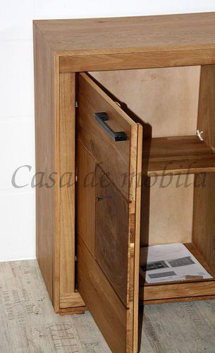 Esszimmer komplett 10teilig Wildeiche massiv geölt Hirnholz – Bild 11
