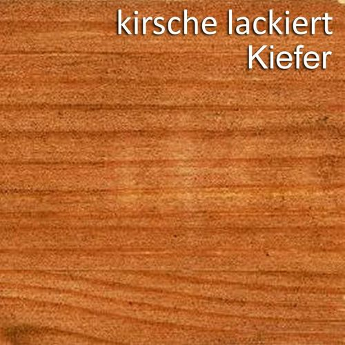 Wandboard 129cm Kiefer Wandregal massiv Vollholz Regalboden – Bild 4