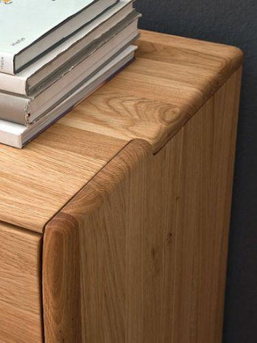 Massivholz Wohnwand 5teilig 346x170x56 cm  – Bild 3