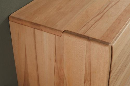 Massivholz Wohnwand 3 teilig 326x170x56 cm  – Bild 7