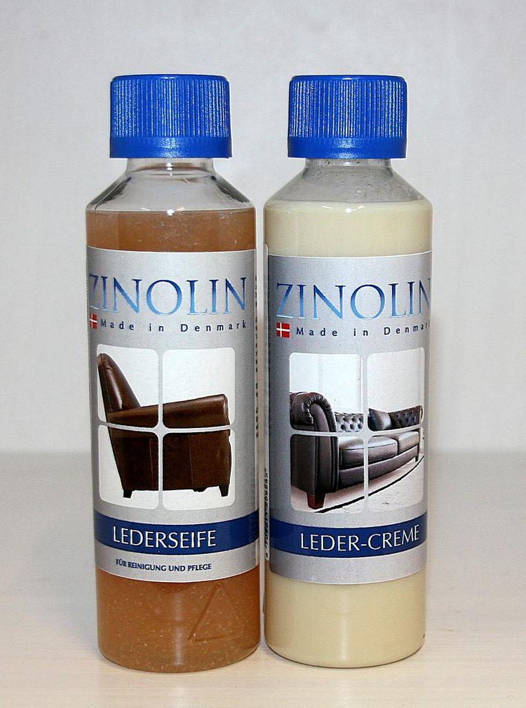 Zinolin Lederpflege-Set Lederreinigung Lederseife Ledercreme – Bild 2