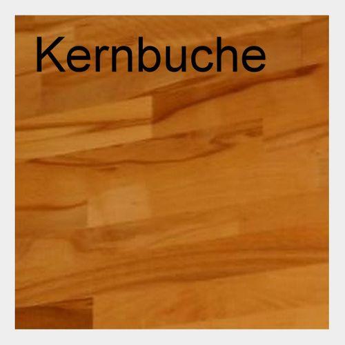 Würfelregal Buche massiv 50x50x35 cm mit Glastür Natur geölt – Bild 3