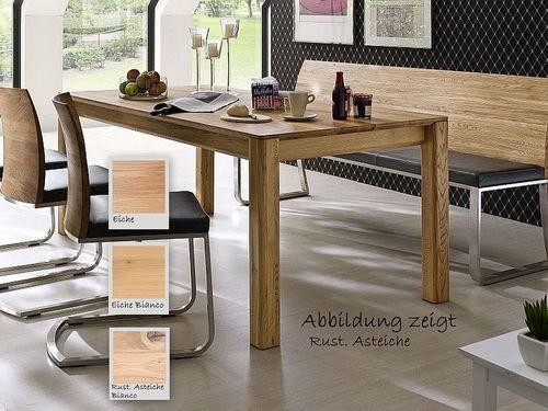 Esstisch massiv 200x95 4-Fuß Tisch geölt – Bild 1