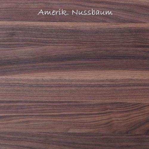 Esstisch massiv Nussbaum160x95 Tisch – Bild 2