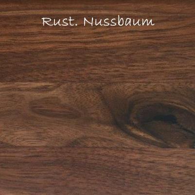 Esstisch massiv Nussbaum160x95 Tisch – Bild 3