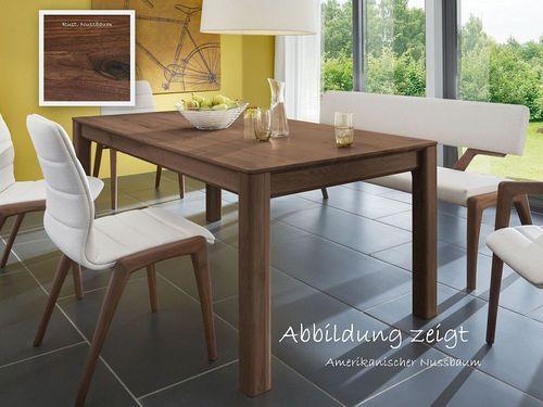 Esstisch massiv Nussbaum 200x95 Tisch – Bild 1