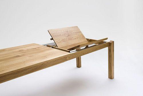 Funktionstisch massiv Buche 160/220x95 Tisch – Bild 4