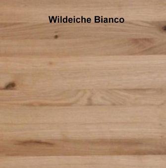 Schrank 4-türig Wildeiche massiv 190x216x60  – Bild 2