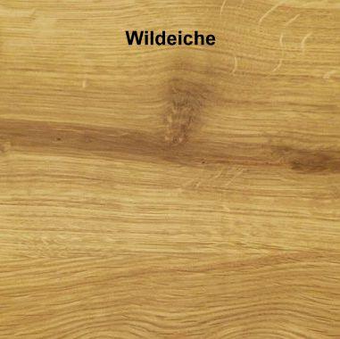 Schrank 4-türig Wildeiche massiv 240x216x60  – Bild 3