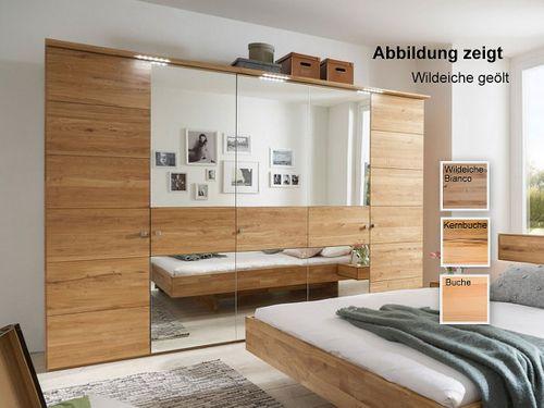 Schlafzimmerschrank 5-trg 300x216x60 mit Spiegeln – Bild 1