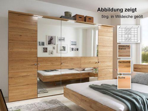 Schlafzimmerschrank 6-trg massiv 284x216x60 – Bild 1
