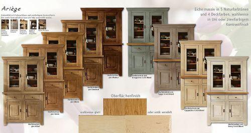 Esszimmertisch rund 105cm erweiterbar Eiche massiv Auszugtisch Holz – Bild 10