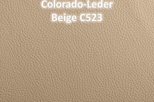 Armlehnstuhl CASERA 56x53x95cm Lederpolster Kernbuche – Bild 8