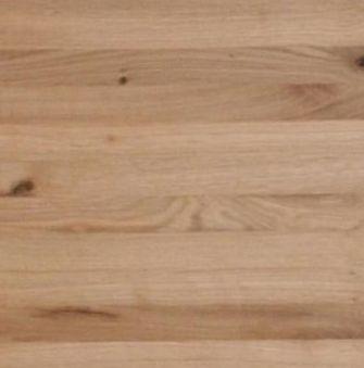Massivholzbett 200x200 Balkenoptik Wildeiche Livos geölt – Bild 4