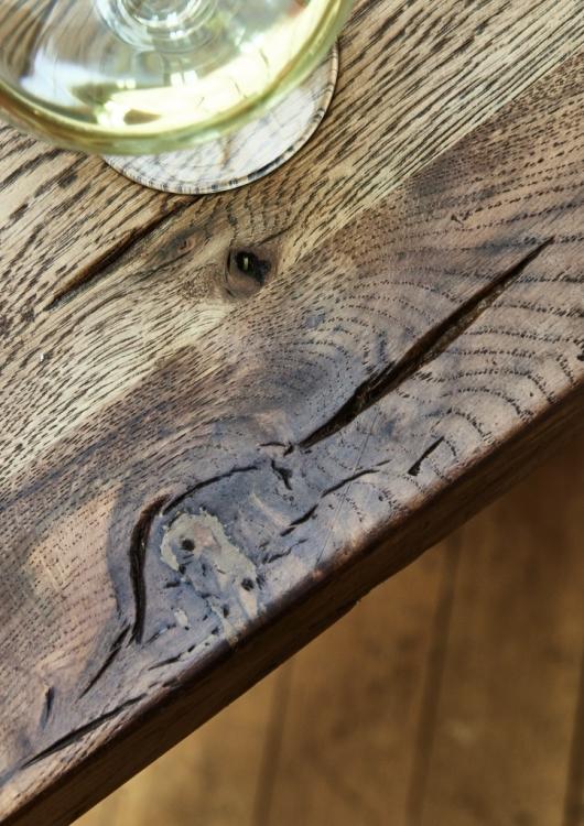 Balkeneiche Tisch 300x100 Rustic Oak Dresden – Bild 5