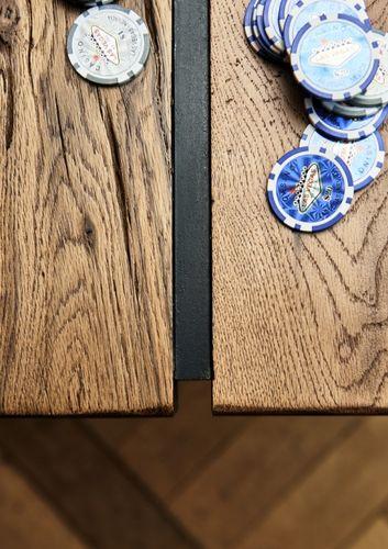 Wangentisch 200x110 Balkeneiche Rustic Oak  – Bild 4