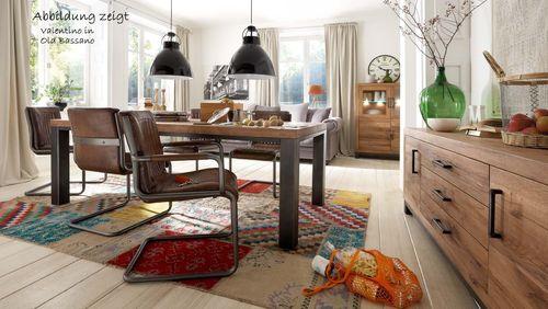 Bodahl Tisch 300x110 Valentino Old Bassano Alteiche Stahlfüße – Bild 2