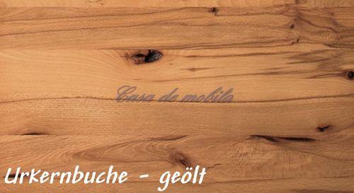Massivholz Schrankwand, B310xH200xT42 cm, 4teilig   – Bild 14